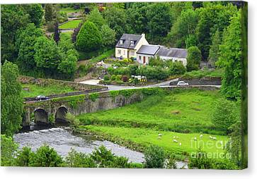 Inistioge In Ireland Canvas Print by Ranjini Kandasamy