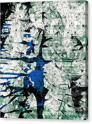 Inner Energy Dance Canvas Print by Fania Simon