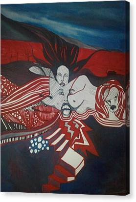 Inner Landscape Canvas Print by Susan  Solak