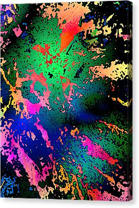 Canvas Print featuring the photograph Inner Space by David Pantuso