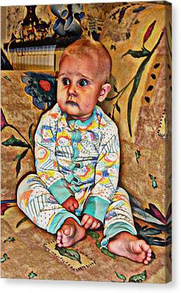 Innocence 1 Canvas Print by Camille Reichardt