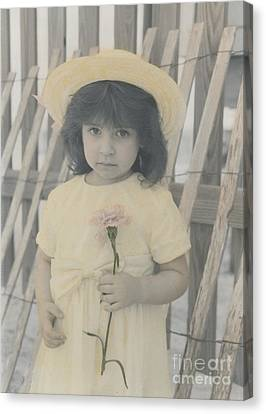 Canvas Print featuring the photograph Innocence by Lori Mellen-Pagliaro