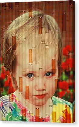 Innocence Tainted Canvas Print