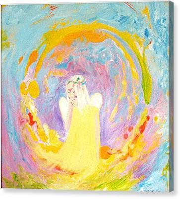 Innocence Canvas Print by Tamara Tavernier