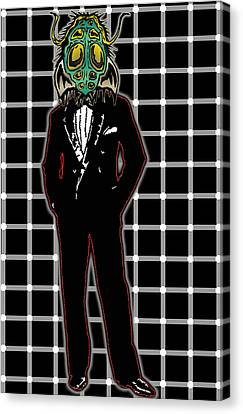 Insectoid Fashion 1 Canvas Print by Travis Burns