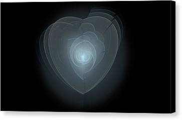 Inside A Scorned Heart Canvas Print by Pennie Gibson