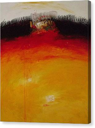 Inside  I. Canvas Print by Jorgen Rosengaard
