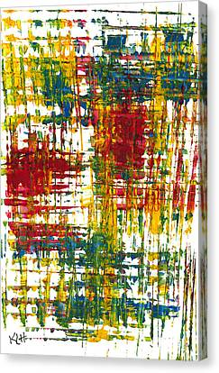 Inside My Garden 161.110411 Canvas Print by Kris Haas