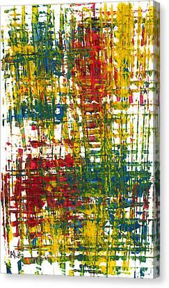 Inside My Garden II 162.110411  Canvas Print by Kris Haas