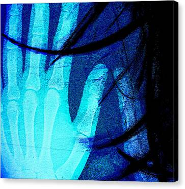 Inside My Hands U Love Canvas Print by Jerry Cordeiro