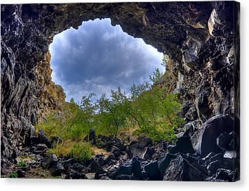 Cavern Canvas Print - Inside Out by Loree Johnson