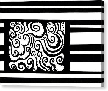 Inside The Box Canvas Print by Mandy Shupp