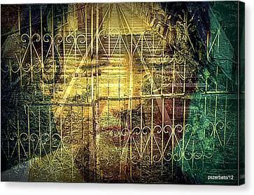 Insurmountable Barriers And Illusory Of Our Minds Canvas Print by Paulo Zerbato