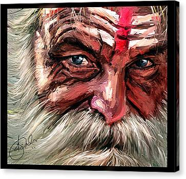 Kiran Kumar Canvas Print - Intense by Kiran Kumar