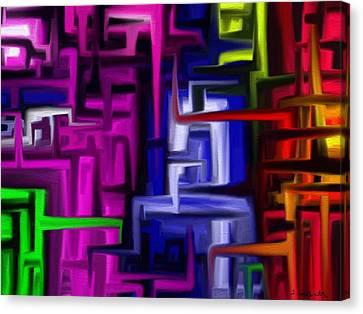 Interplex Canvas Print