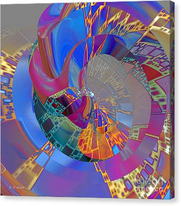 Into The Inner World Canvas Print by Deborah Benoit