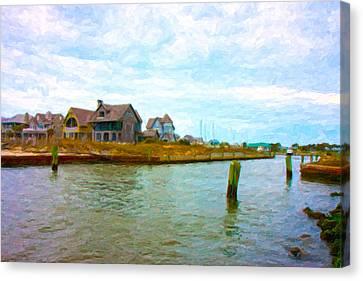 Into The Marina Canvas Print