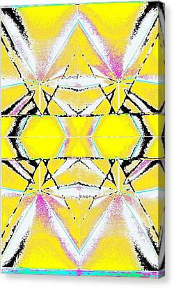 Into The Sky Yellow Canvas Print by Steven A Bash