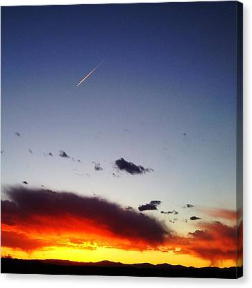 Into The Sun Canvas Print by Paul Cutright