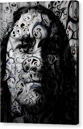 Intrigue Canvas Print by Christopher Gaston