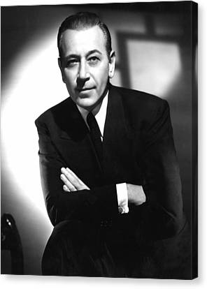Intrigue, George Raft, 1947 Canvas Print