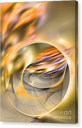 Interior Still Life Canvas Print - Intrinsic Flame by Sipo Liimatainen