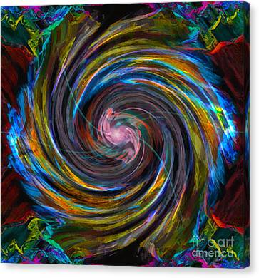 Intuition Canvas Print by Gwyn Newcombe
