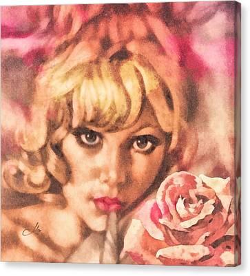 Invitation Canvas Print by Mo T