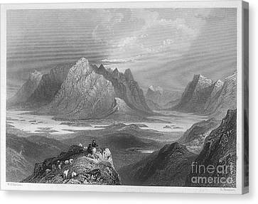 Ireland: Lough Inagh, C1840 Canvas Print by Granger