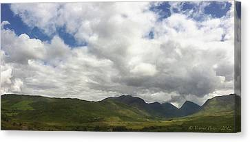 Ireland Panorama Canvas Print