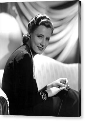 Irene Dunne, Paramount Pictures, 1939 Canvas Print by Everett