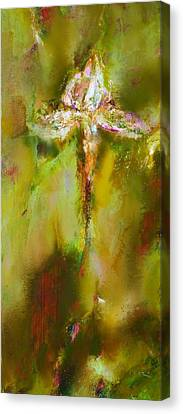 Iris 9 Beethoven Canvas Print by Petro Bevza