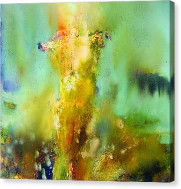 Iris Radiance Canvas Print by Petro Bevza