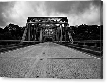 Iron Bridge Mississippi Canvas Print by Bryan Burch