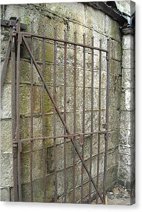Canvas Print featuring the photograph Iron Gate by Christophe Ennis