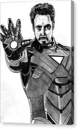 Iron Man Canvas Print by Ralph Harlow