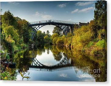 Ironbridge Canvas Print by Adrian Evans