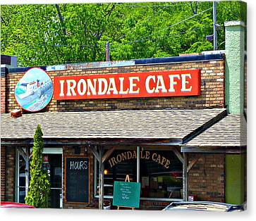Irondale Cafe  Canvas Print