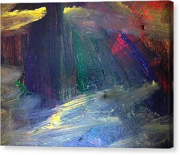 Irresolute Arousal Canvas Print by Paula Andrea Pyle