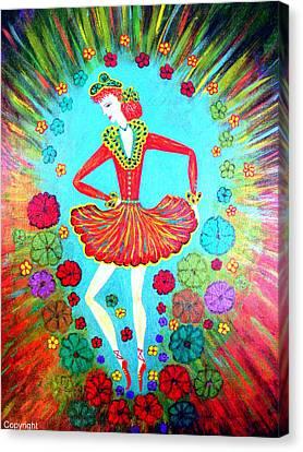 Isabel Canvas Print by Marie Schwarzer
