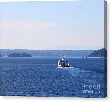 Island Ferry Canvas Print by Billie-Jo Miller