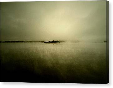 Island Of Mystic  Canvas Print by Jerry Cordeiro