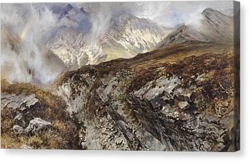 Isle Of Skye Canvas Print by Keeley Halswelle