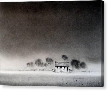 Isolation Canvas Print by Mark Lockwood
