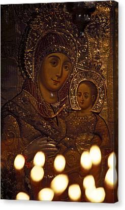 Israel, Bethlehem, Israel-church Canvas Print