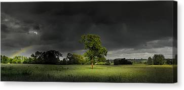 Canvas Print featuring the photograph It Can't Rain All The Time by John Chivers