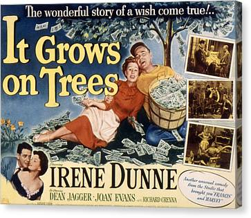 It Grows On Trees, Irene Dunne, Dean Canvas Print by Everett