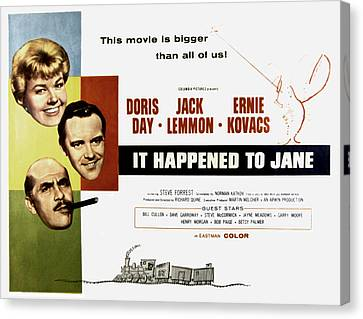 It Happened To Jane, Doris Day, Jack Canvas Print by Everett