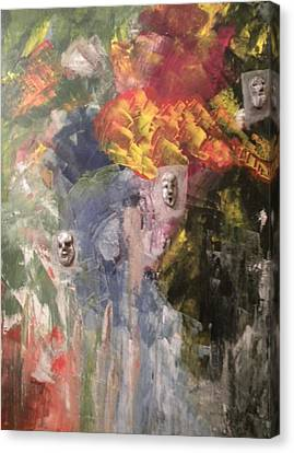 It Must Have Been Love Canvas Print by Carmen Kolcsar