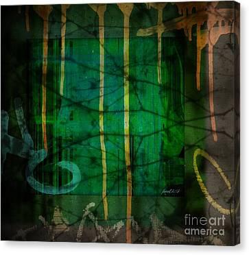 It Runneth Over Canvas Print by Fania Simon